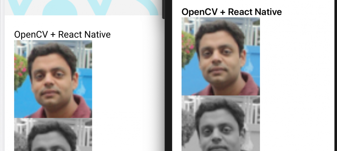 How to use OpenCV in ReactNative
